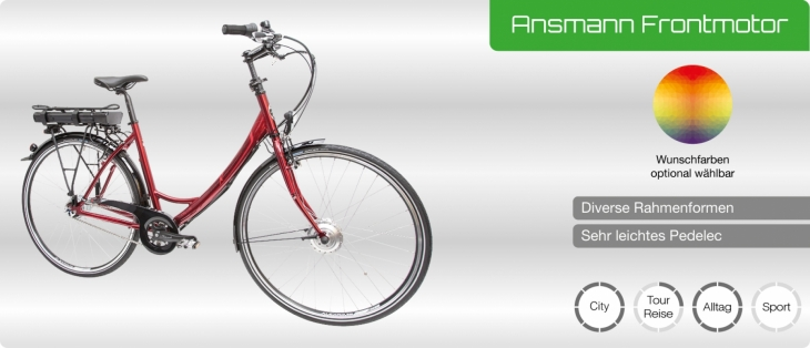 MaxCycles Ansmann Frontmotor (2019)